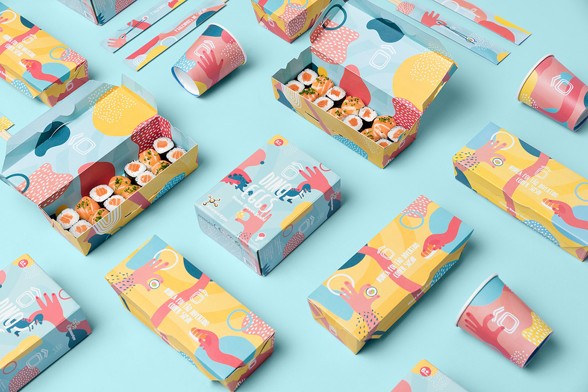 6-Home Sweet Sushi Kids by Savvy Agency-SOURCE BEHANCE